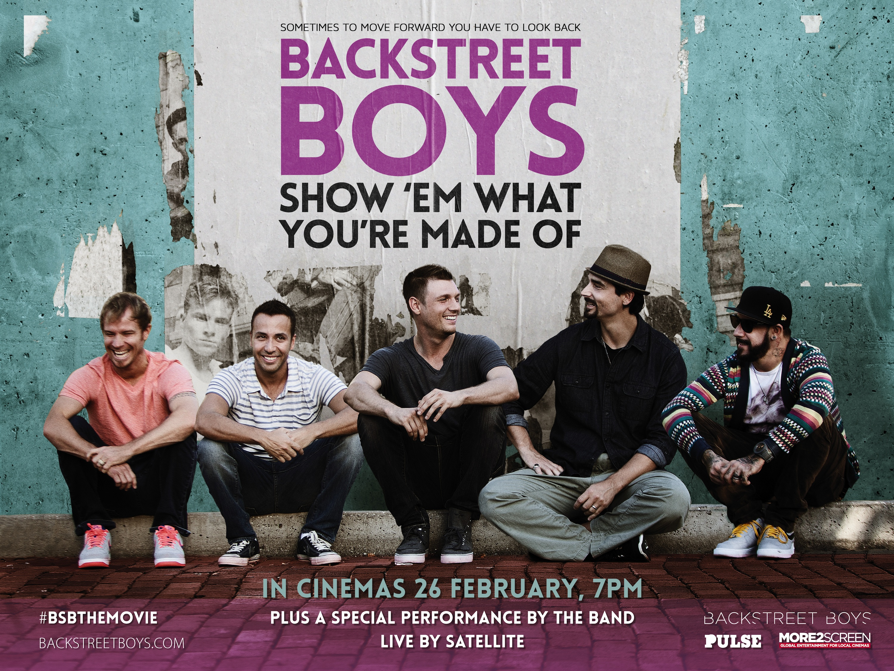 Review: Backstreet Boys - Show 'Em What You're Made Of
